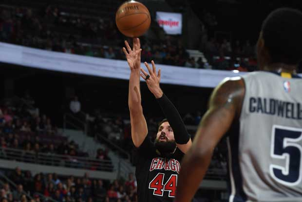 Nikola Mirotic, destacado ante Detroit