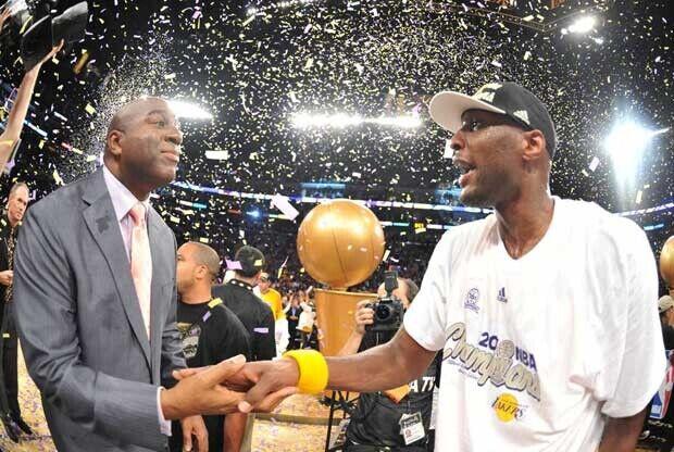 Lamar Odom, campeón de la NBA en 2009 y 2010