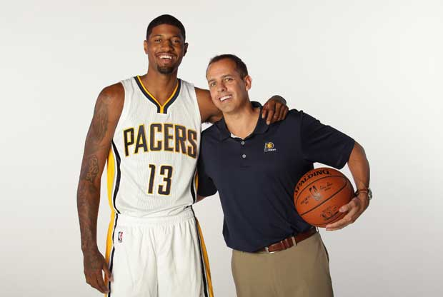 Paul George aclara su nuevo rol con Frank Vogel y Larry Bird