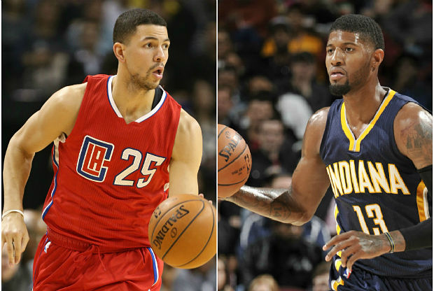 Austin Rivers y Paul George son multados por la NBA