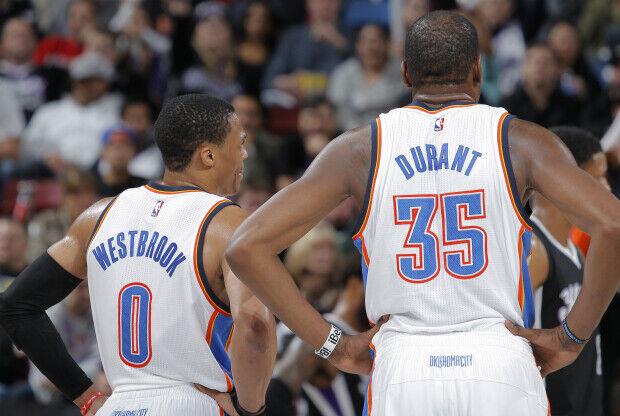Russell Westbrook y Kevin Durant son la cara más visible de Oklahoma City Thunder