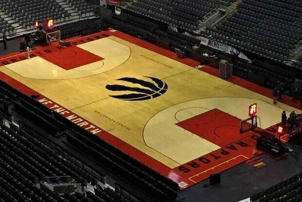 Toronto Raptors tiene nuevo parqué