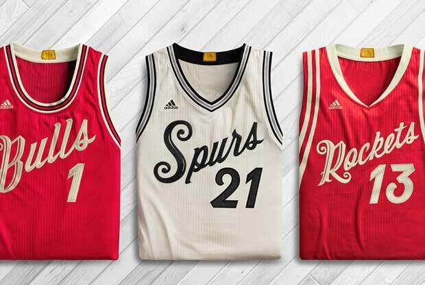 Uniformes para el día de Navidad en la NBA