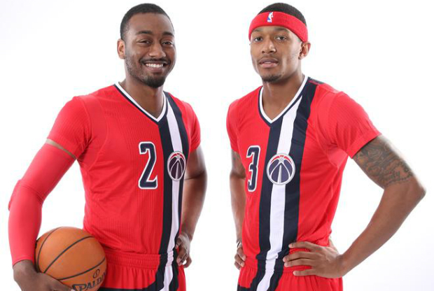 nueva indumentaria de Washington Wizards