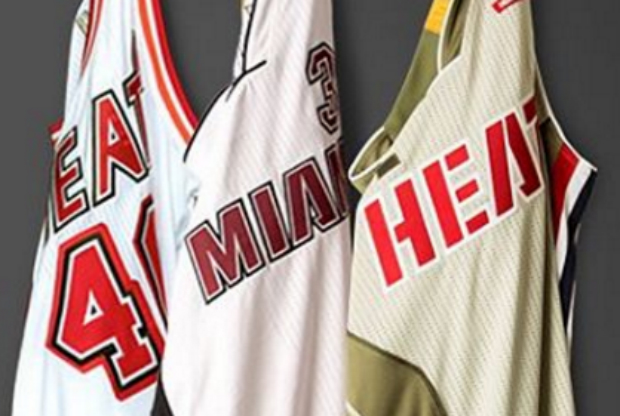 Miami Heat tendrá tres uniformes nuevos alternativos