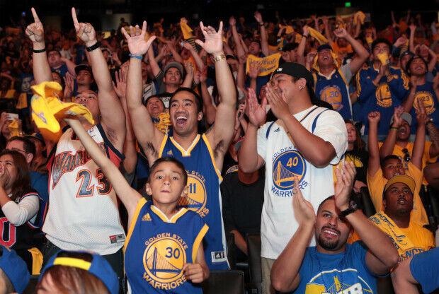 Los fans de Golden State Warriors son los mejores de la NBA