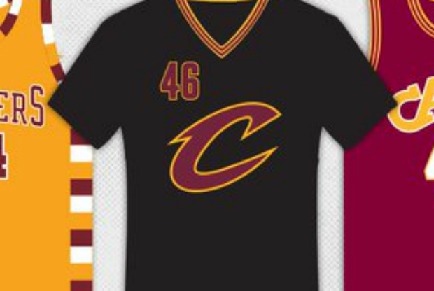 Uniformes alternativos de Cleveland Cavaliers