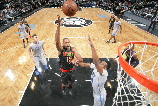 Al Horford ante Brooklyn Nets