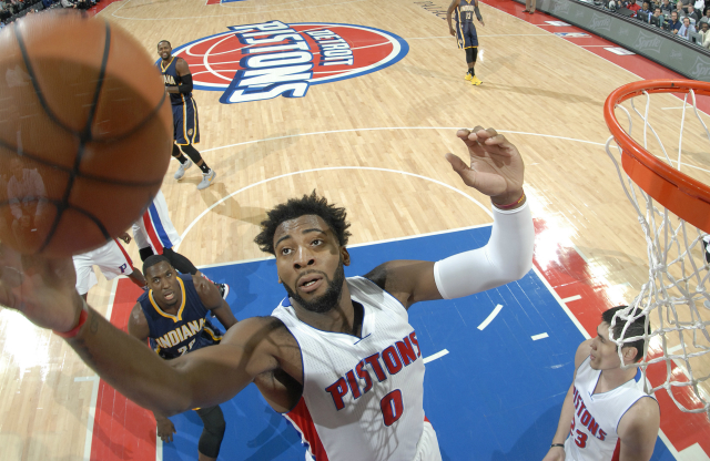 Andre Drummond en partido ante Indiana Pacers