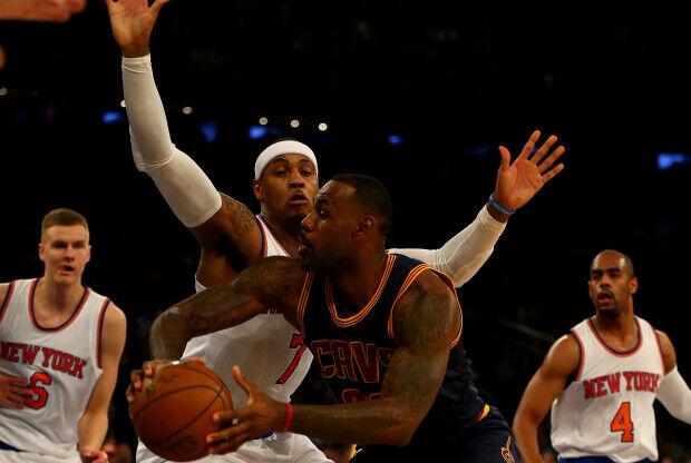 Partido New York Knicks Cleveland cavaliers
