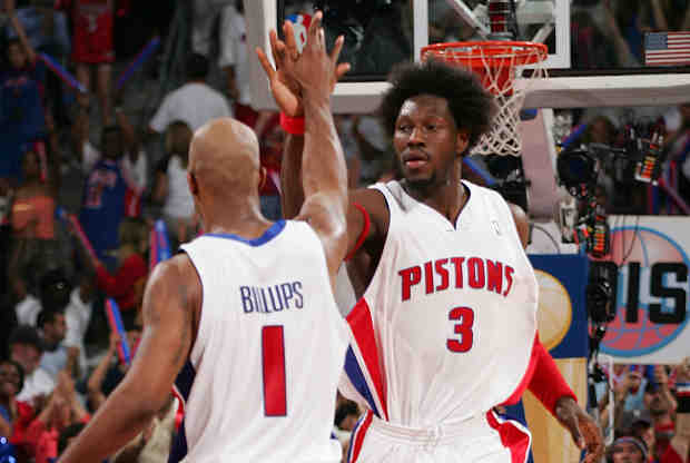 Chauncey Billups y Ben Wallace serán 'dioses' en Detroit Pistons