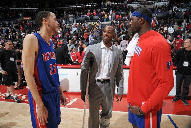Ben Wallace y Chauncey Billups recibirán un homenaje de Detroit Pistons.