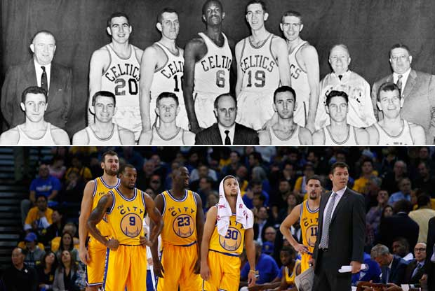 Boston Celtics y Golden State Warriors