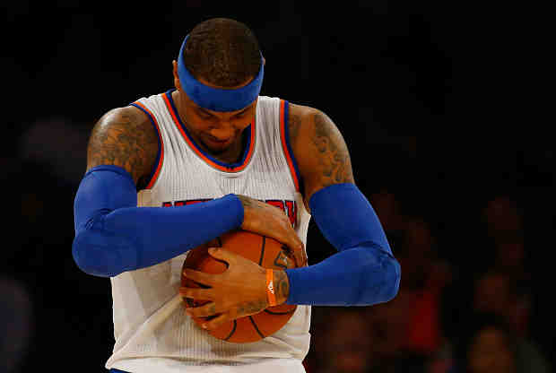 Carmelo Anthony, el líder de New York Knicks
