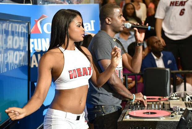 DJ y dancer de Miami Heat