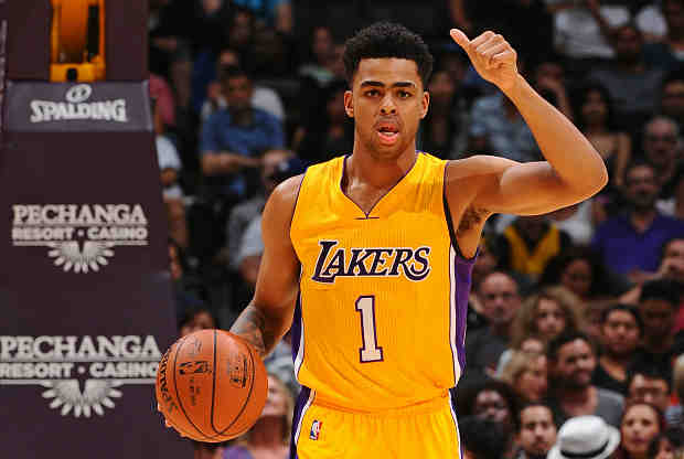 D'Angelo Russell es el novato estelar de Los Angeles Lakers