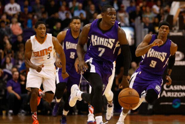 Darren Collison en partido ante Phoenix Suns.