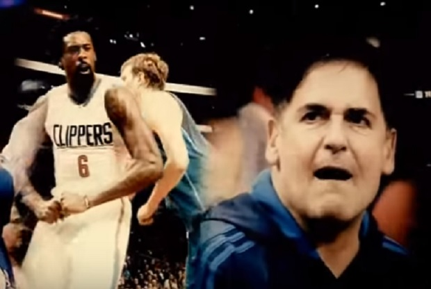 DeAndre Jordan y Mark Cuban