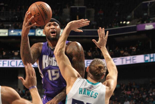DeMarcus Cousins lideró a Sacramento Kings a una nueva victoria.