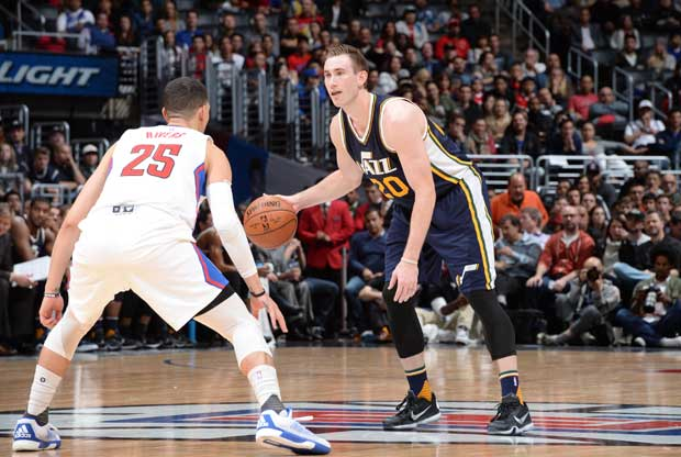 Gordon Hayward, estelar ante Los Angeles Clippers
