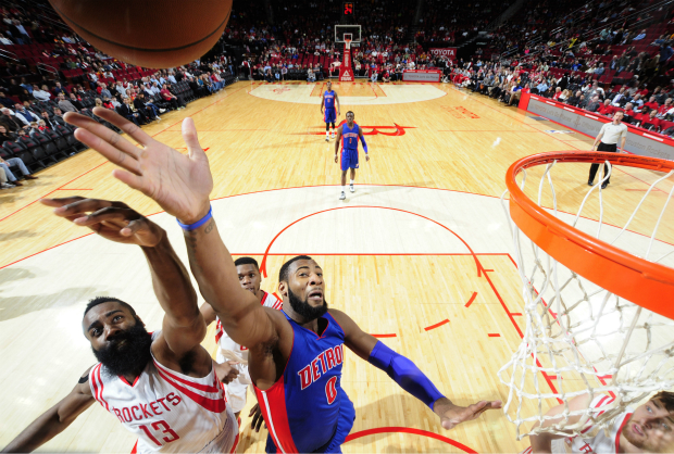 Harden-Drummond mejores semana NBA.