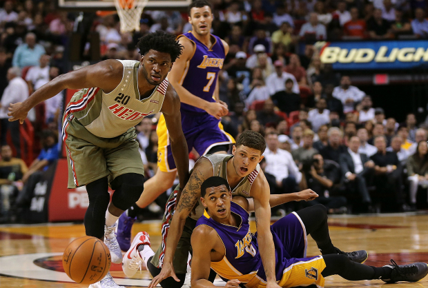 Miami Heat superó a Los Angeles Lakers