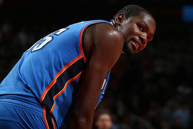 Kevin Durant será agente libre al final de esta temporada