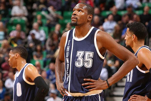 Kevin Durant vuelve a las canchas