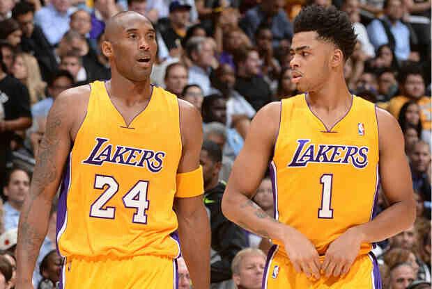 Kobe Bryant está siendo el espejo de D'Angelo Russell