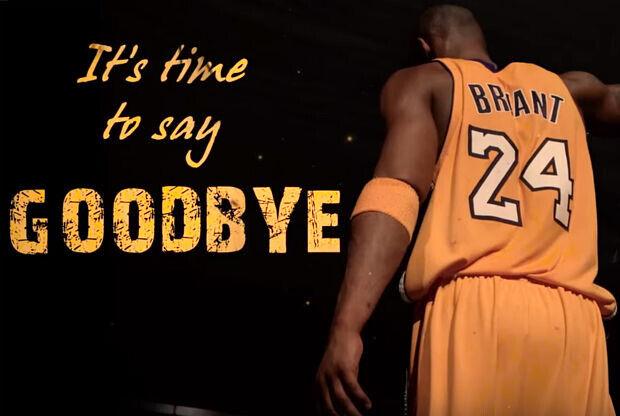 Kobe Bryant dice adiós a la NBA