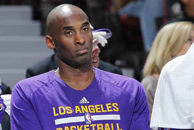 Kobe Bryant sigue teniendo mal su puntería