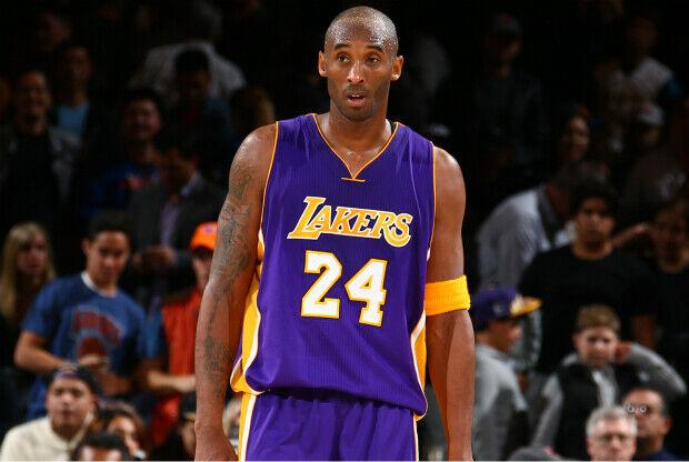 Kobe Bryant en partido ante New York Knicks.