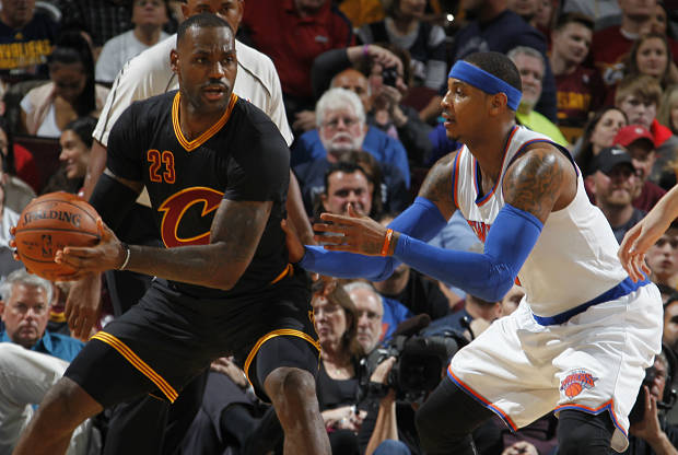 LeBron James vs. Carmelo Anthony