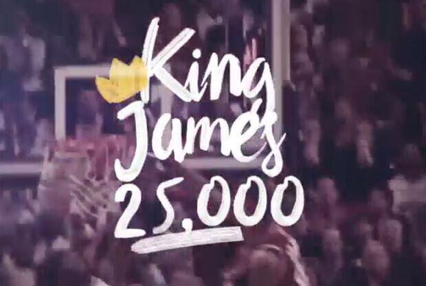 LeBron James a través de los años