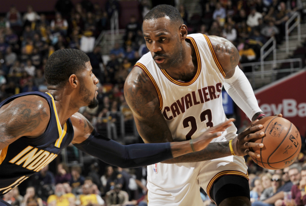 Paul George ante LeBron James.