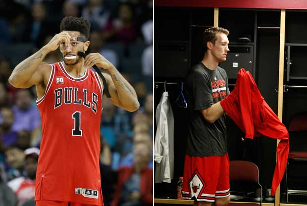 Derrick Rose y Mike Dunleavy