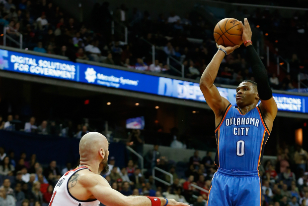 Russell Westbrook, contra Washington Wizards