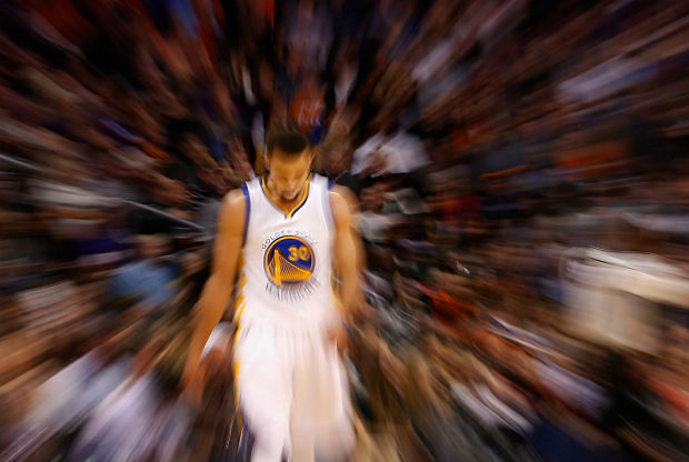 Stephen Curry está a otro nivel