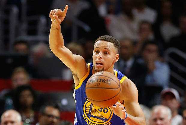 Stephen Curry anota 40 puntos ante Los Angeles Clippers