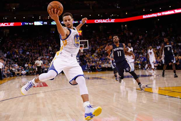 Otro partidazo de Stephen Curry