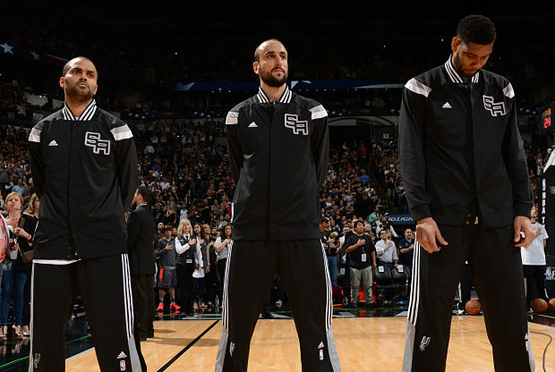 El Big-Three de San Antonio Spurs hace historia