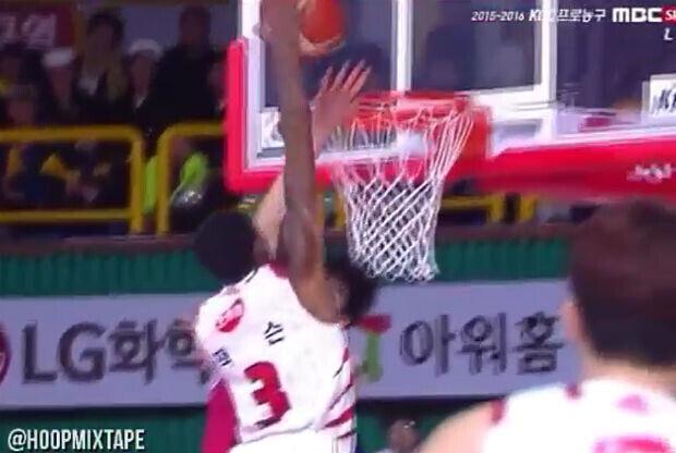 espectacular mate en la liga coreana