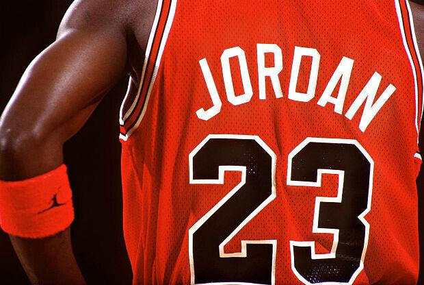 Camiseta de Michael Jordan