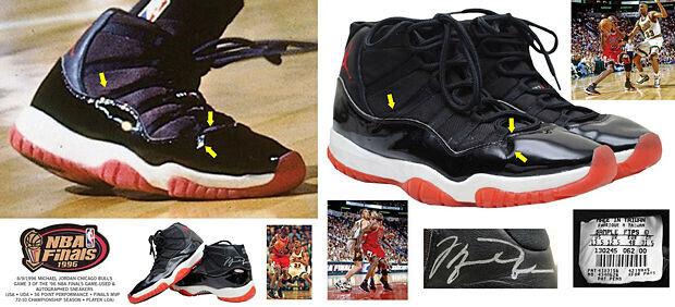 Las zapatillas de Michael Jordan en subasta