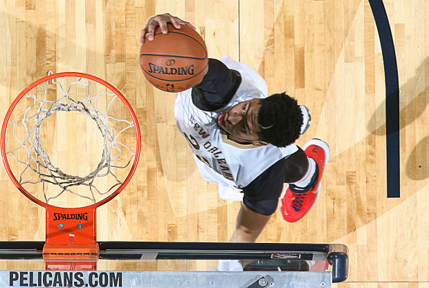 Anthony Davis con New Orleans Pelicans