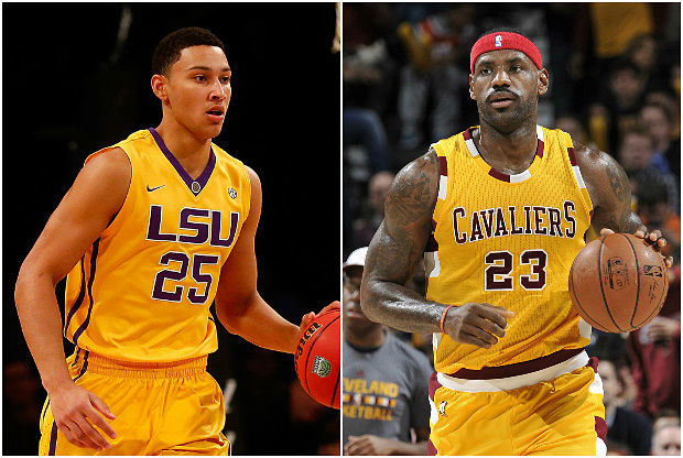 Ben Simmons recibe comparaciones con LeBron James