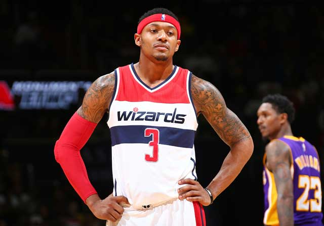 Bradley Beal, en un partido de Washington Wizards