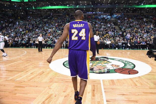 Kobe Bryant en el TD Garden