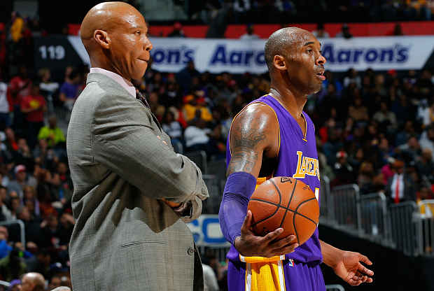 Byron Scott Los Angeles Lakers