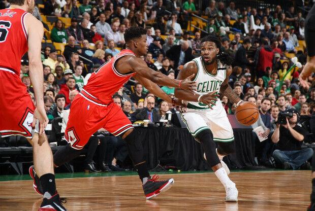 Un Boston Celtics contra Chicago Bulls en la NBA